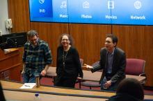 CJS, Berman Center for Jewish Studies, 2019, Sinclair Auditorium, Hartley Lachter, Jodi Eichler-Levine